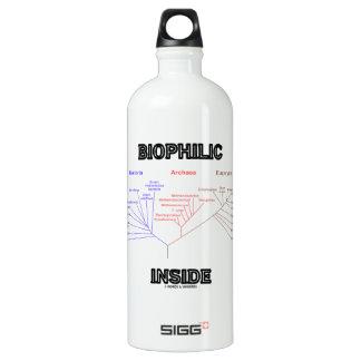 Biophilic Inside Phylogenetic Tree Of Life Water Bottle