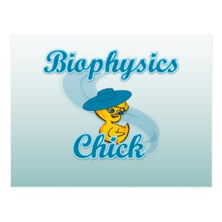 Biophysics Chick #3 Postcard
