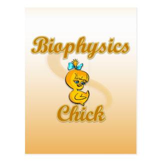 Biophysics Chick Postcard