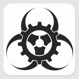 BioPunk Square Sticker