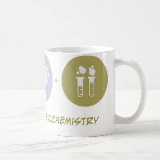 Bioquímica del amor de la fe taza de café
