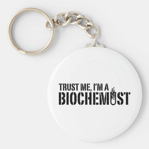 Bioquímico Llavero Redondo Tipo Pin