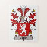 Biorn Family Crest Puzzles