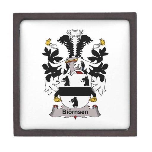 Biornsen Family Crest Premium Trinket Boxes