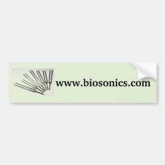 BioSonics bumper sticker