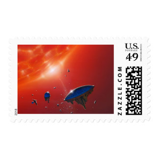 Biosphere Postage Stamps
