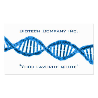 Biotech DNA Double-Sided Standard Business Cards (Pack Of 100)