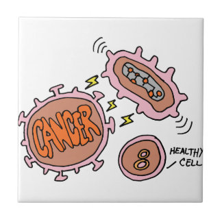 Biotech genomic cancer cure ceramic tile