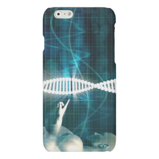 Biotechnology as a Research Abstract Background Matte iPhone 6 Case