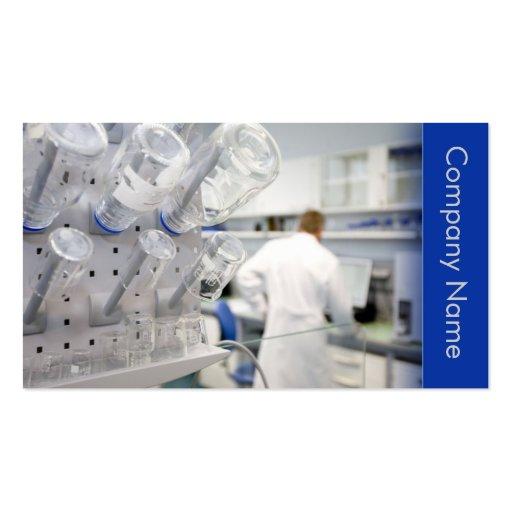 Biotechnology / Biotechnologist Business Card