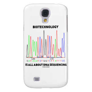 Biotechnology Is All About DNA Sequencing Samsung Galaxy S4 Cases