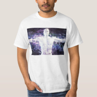 Biotechnology of the Future Abstract as Art T-Shirt