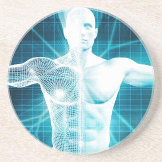 Biotechnology or Biology Technology Biotech Drink Coaster