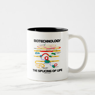 Biotechnology The Splicing Of Life (Mature RNA) Two-Tone Coffee Mug