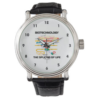 Biotechnology The Splicing Of Life (Mature RNA) Wristwatch