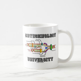 Biotechnology University (DNA Replication) Classic White Coffee Mug