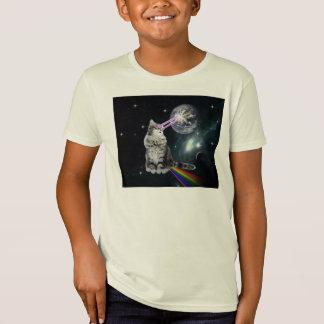 Bioworld Laser Eyes Space Cat T-Shirt