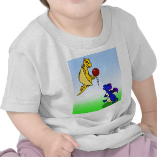 Bip and Wes play football T Shirts