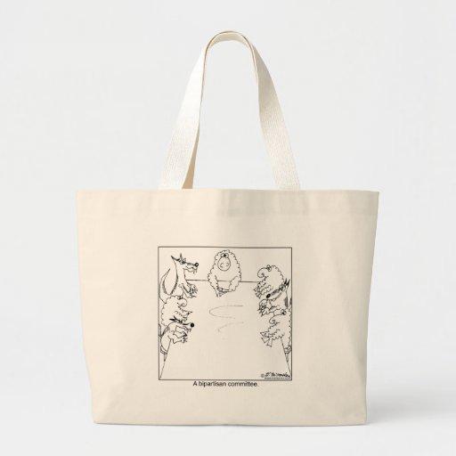 Bipartisan Committee Jumbo Tote Bag
