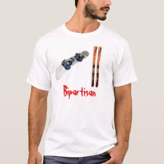Bipartisan (Ski & Snowboard) T-Shirt