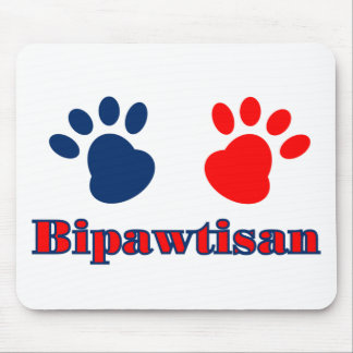 Bipawtisan Politics Mouse Pad