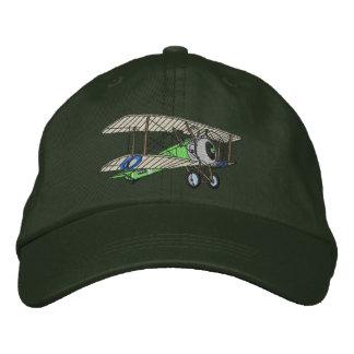 Biplane #2 embroidered hat
