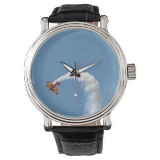 Biplane Acrobatics Watch