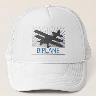 Biplane Airplane Trucker Hat