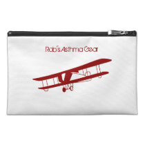 Biplane Asthma Emergency Kit Travel Accessory Bag