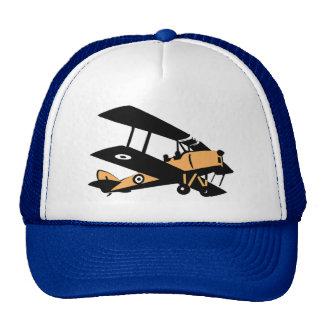 Biplane Cartoon Aviation Cap Trucker Hat