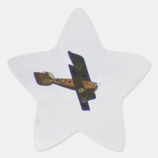 Biplane In Werner Voss Livery Stickers