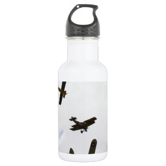 Biplane Models 18oz Water Bottle