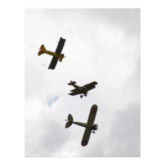 Biplane Models Letterhead