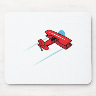 Biplane Mouse Pad