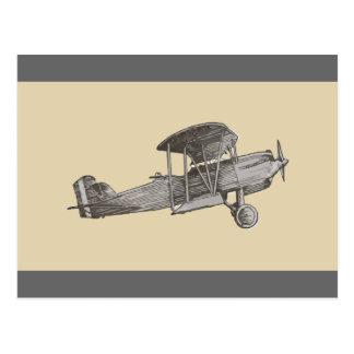 Biplane Post Card
