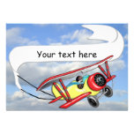 Biplane Towing Banner Customizable Custom Announcements
