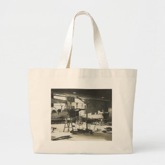 Biplane Trainers In 1941 Large Tote Bag