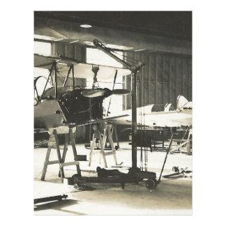 Biplane Trainers In 1941 Letterhead