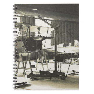 Biplane Trainers In 1941 Notebook