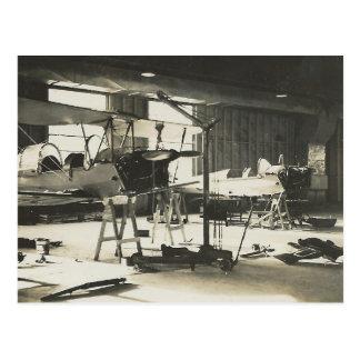 Biplane Trainers In 1941 Postcard