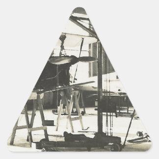 Biplane Trainers In 1941 Triangle Sticker