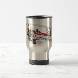 biplanes 15 oz stainless steel travel mug