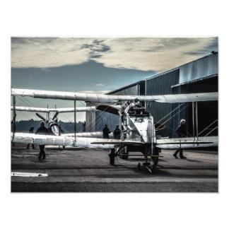 Biplanes Photo Print