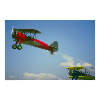 Biplanes Poster