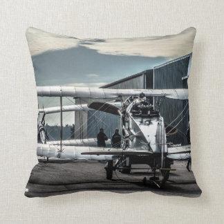 Biplanes Throw Pillow