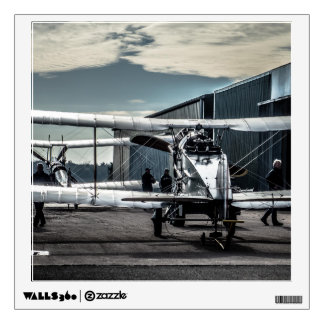 Biplanes Wall Decal