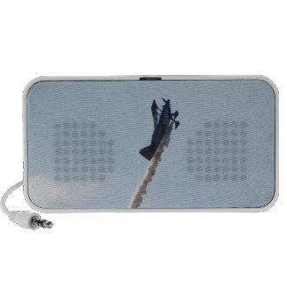 Biplano aeroacrobacia laptop altavoces