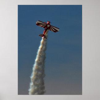 Biplano de Airshow Póster