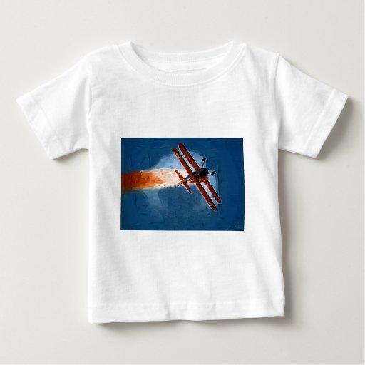Biplano de Stearman Camisas