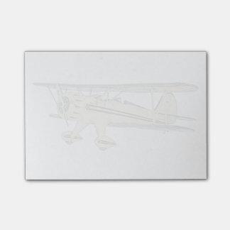 Biplano de Waco Nota Post-it®